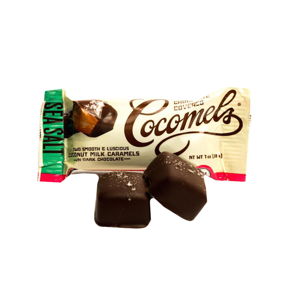 Cocomels Chocolate-Covered Sea Salt - 28g