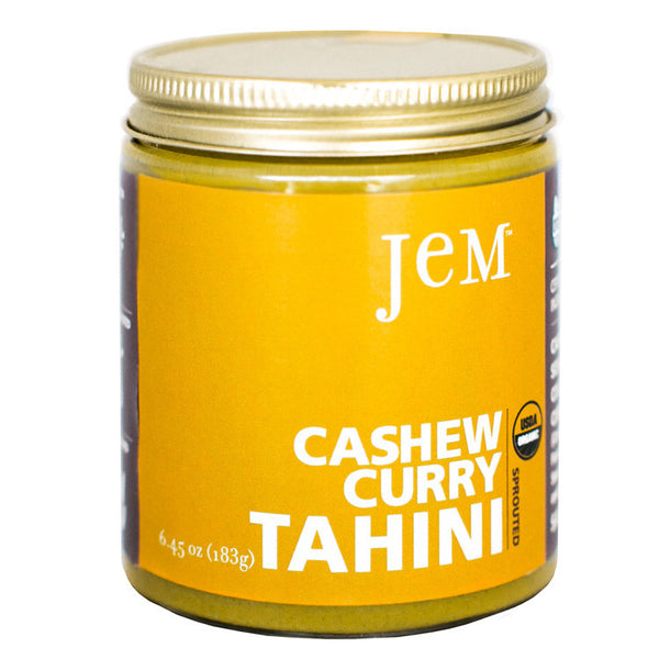 Jem Sprouted Cashew Curry Tahini - Multiple Sizes