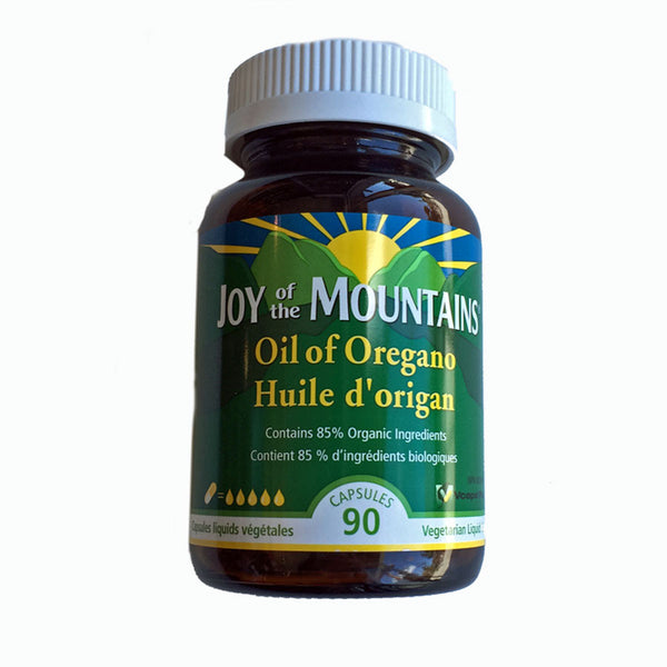 Joy Of The Mountain Oil Of Oregano Capsules - 90 Capsules