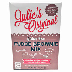 Julie's Original Gluten Free Fudge Brownie Mix - 474g