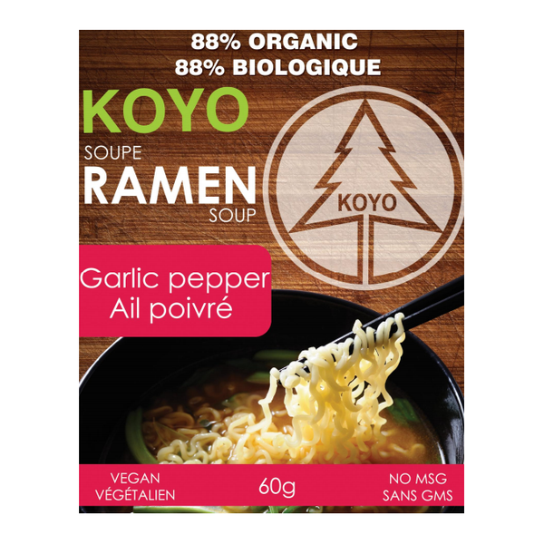 Koyo Garlic Pepper Ramen - 60g