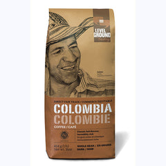 Level Ground Colombia Dark Roast (Bean) - 1lb