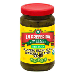 La Preferida Organic Mild Jalapeno Nacho Slices - 250ml