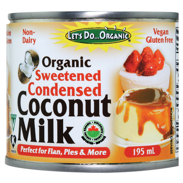 Let's Do Organic Organic Sweetened Condensed Coconut Milk - 195ml