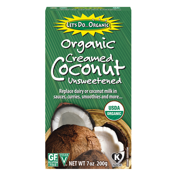 Let's Do Organic Creamed Coconut - 200g