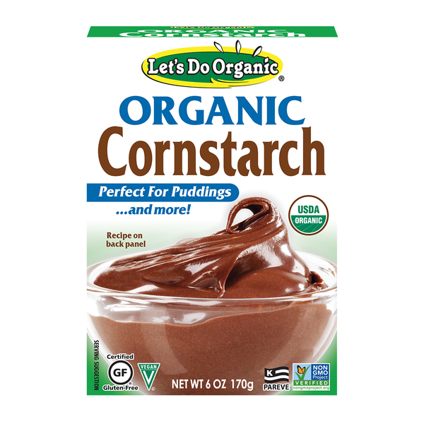Let's Do Organic Cornstarch - 170g