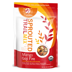 Living Intentions Mango Goji Fire Sprouted Trail Mix - 198g