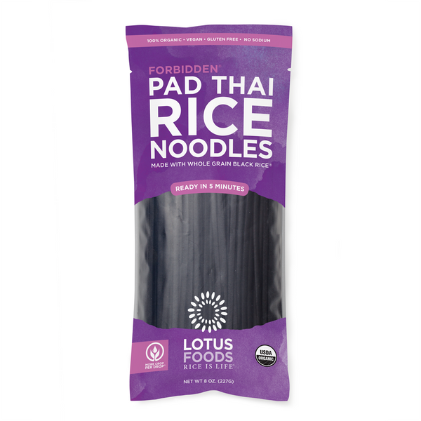 Lotus Foods Forbidden Rice Pad Thai Noodles - 227g