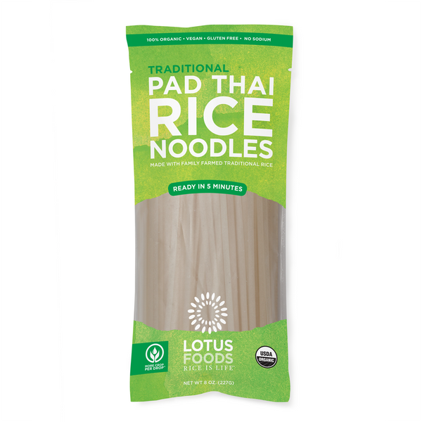 Lotus Foods Traditional Rice Pad Thai Noodles - 227g