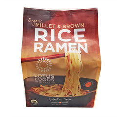 Lotus Foods Organic Millet & Brown Rice Ramen - 283g