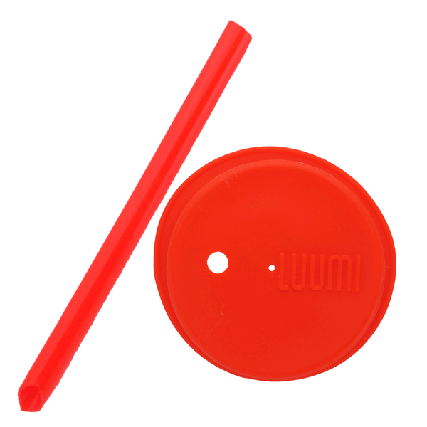 Luumi Unplastic Bubble Tea Straw & Lid