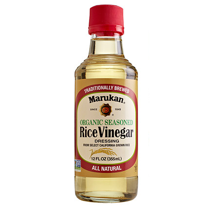 Marukan Organic Seasoned Rice Vinegar Dressing - 355ml
