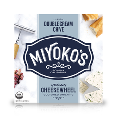 Miyoko's Creamery Classic Double Cream Chive Cheese - 184g