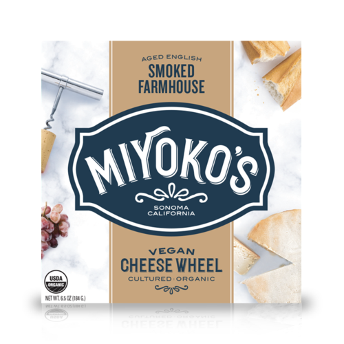 Miyoko's Creamery Aged English Smoked Farmhouse Cheese - 184g
