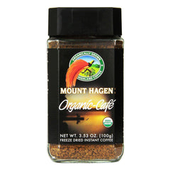 Mount Hagen Organic Cafe Freeze Dried Instant Coffee - 100g