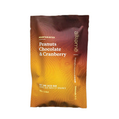Alkeme Mountain Bites Peanuts, Chocolate & Cranberry Granola Bar - 70g