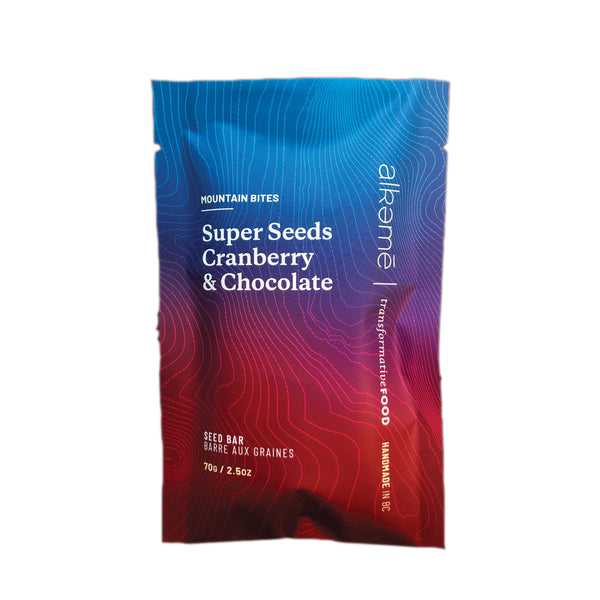 Alkeme Mountain Bites Super Seeds, Cranberry & Chocolate - 70g