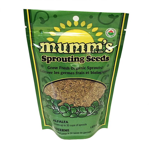 Mumm's Alfalfa Sprouting Seeds - 125g