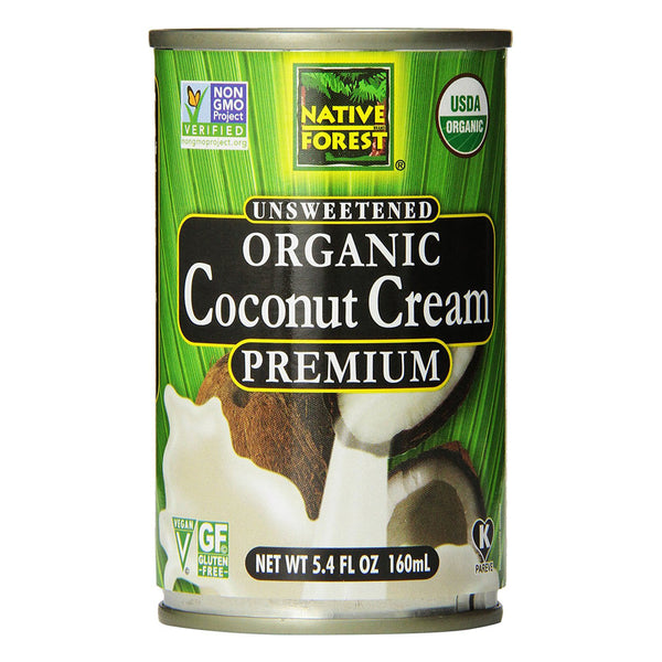 Native Forest Organic Unsweetened Premium Coconut Cream - 160ml