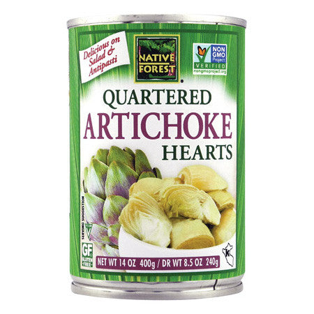 Native Forest Quartered Artichoke Hearts - 400g
