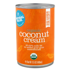 Natural Value Organic Coconut Cream - 400ml