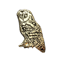 Nature's My Friend 'Owl' Enamel Pin