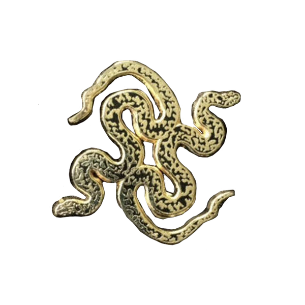 Nature's My Friend 'Snake' Enamel Pin