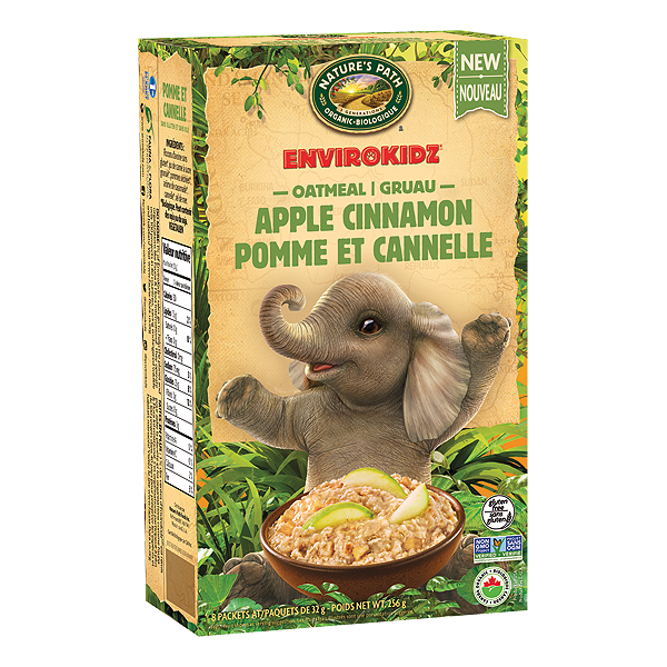 Nature's Path EnviroKids Apple Cinnamon Oatmeal - 256g