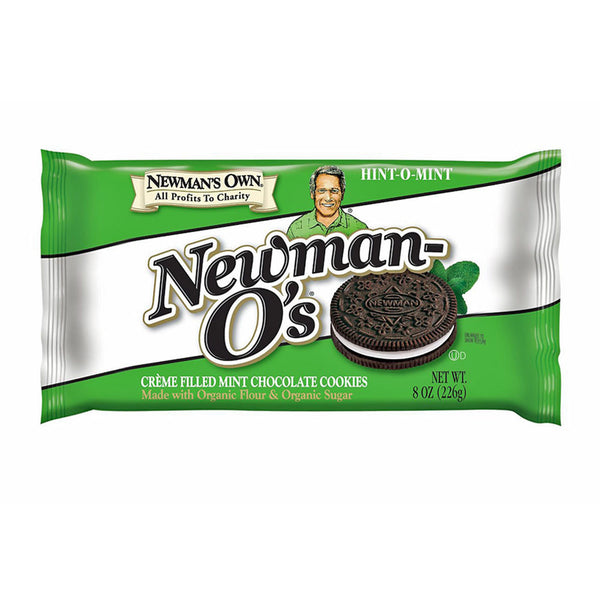 Newman's Own Newman-O's Hint-O-Mint Cookies - 226g