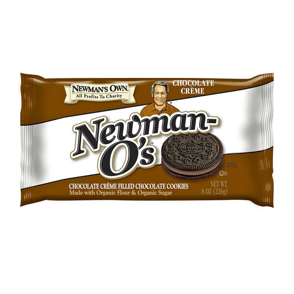 Newman's Own Chocolate Newman-O's Cookies - 226g