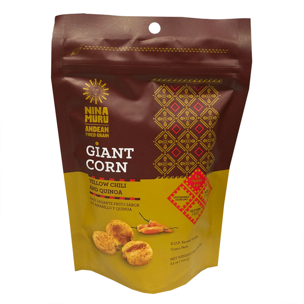Nina Muru Yellow Chili and Quinoa Giant Corn - 100g