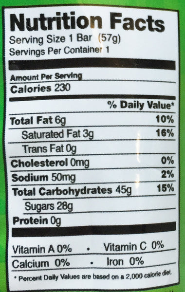 No Whey Foods No Whey Candy Bar - 57g