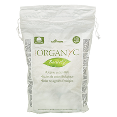 Organyc Beauty Organic Cotton Balls - 100 Cotton Balls
