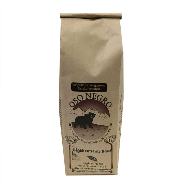 Oso Negro Light Organic Coffee Blend - 454g