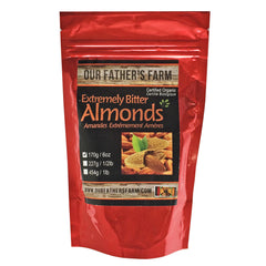 Our Father's Farm Organic Extremely Bitter Almonds - 170g