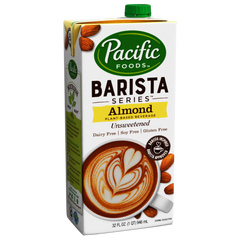 Pacific Barista Series Unsweetened Almond Milk - 946ml