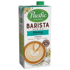 Pacific Foods Barista Original Hemp Milk - 946ml