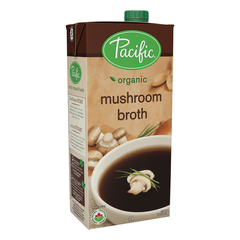 Pacific Foods Organic Mushroom Broth - 1L