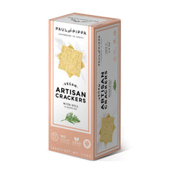 Paul and Pippa Dill & Olive Oil Artisan Crackers - 130g