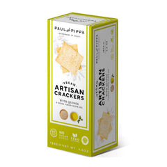 Paul and Pippa Quinoa & Olive Oil Artisan Crackers - 130g