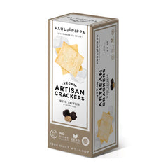 Paul and Pippa Truffle & Olive Oil Artisan Crackers - 130g