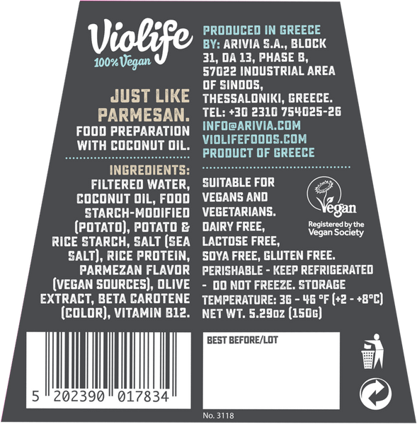 Violife Parmesan Wedge - 150g