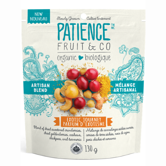 Patience Fruit & Co Exotic Journey Artisan Snack Blend - 130g