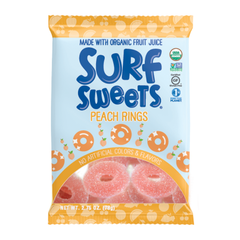 Surf Sweets Peach Rings - 78g