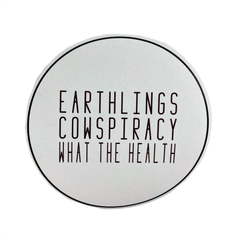 Peace People Project Earthlings, Cowspiracy, What The Health Sticker