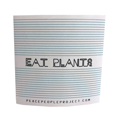 Peace People Project 'Eat Plants' Sticker
