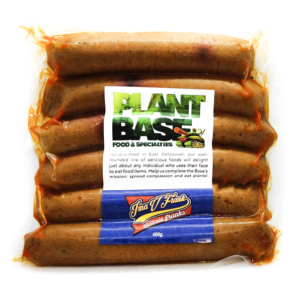 PlantBase Food IMA V Franks - 400g
