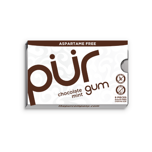Pur Chocolate Mint Gum - Multiple Sizes