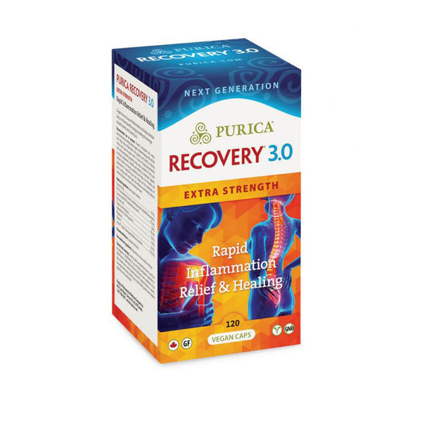 Purica Recovery 3.0 Extra Strength - 120 Caps