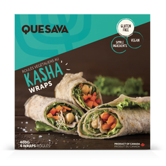 Quesava GF Kasha Wraps - 400g